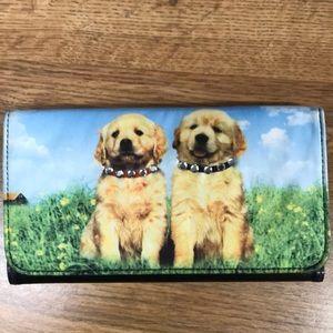 Cute Puppy Dog Wallet